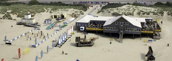 Beware Beach op de Brouwersdam bij Ouddorp.
