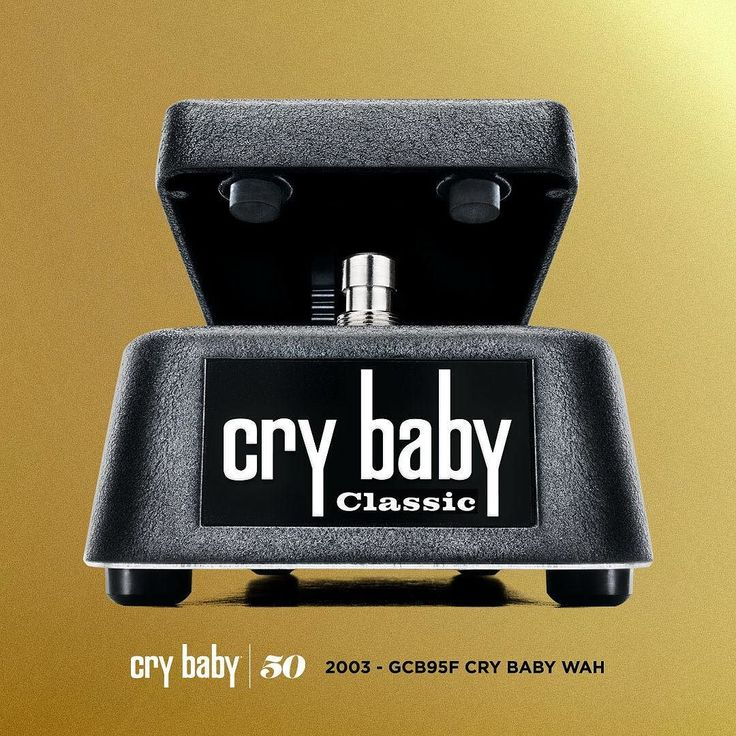 THE EVOLUTION OF THE CRYBABY WAH: Cry Baby Classic Wah - 2003 First released in 2003 the Cry Baby Classic Wah interprets classic wah sound through the modern design of the GCB95. Dunlop's engineers lowered the frequency center and made the wah effect more subtle while adding the legendary Fasel Inductor to create the gorgeous tone voice and sweep of early Cry Baby pedals. For tonal purists the Cry Baby Classic Wah also features true bypass switching.  Head to our blog to learn about the…