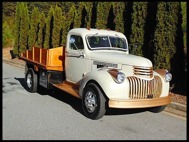 1946 Chevrolet Dually Pickup 350 CI, Automatic -  This one is so much like the farm truck we had.