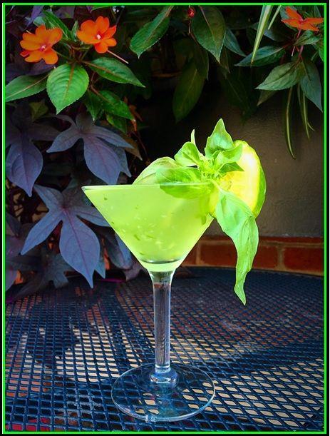 Cucumber & Basil Gimlet | Bistro Romano Drink Specials | Pinterest ...
