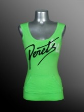 Ladies - Fashion Cami - Slub Jersey - Neon Green - Joshua Perets - LS13-JRSL235-261