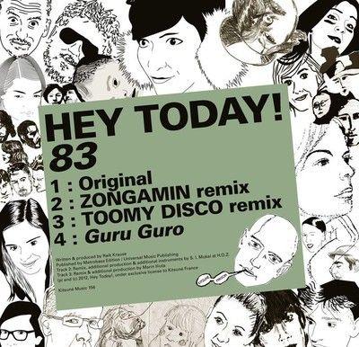 Hey Today - 83 EP | April 23, 2012 on KITSUNÉ.