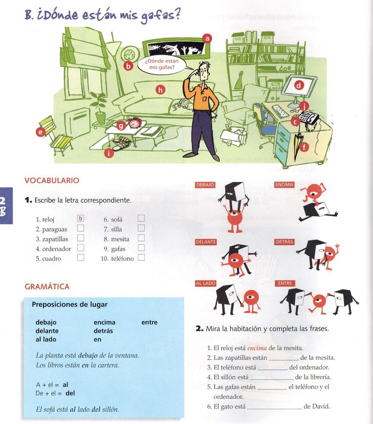 Visual Literacy Worksheets  Best Spanish Materials Images On Pinterest  Spanish Lessons  Richter Scale Worksheet Excel with Monthly Expense Worksheet Excel Word Situar Con El Verbo Estarejercicios Chemistry Unit 6 Worksheet 1