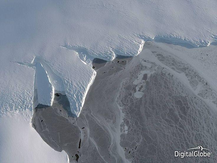 IL bacino di Nordenskjold nell'Antartide