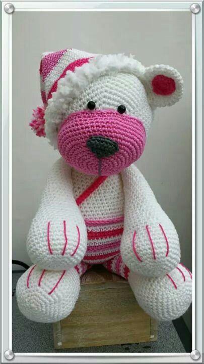 Crochet bear (Inspiration only).