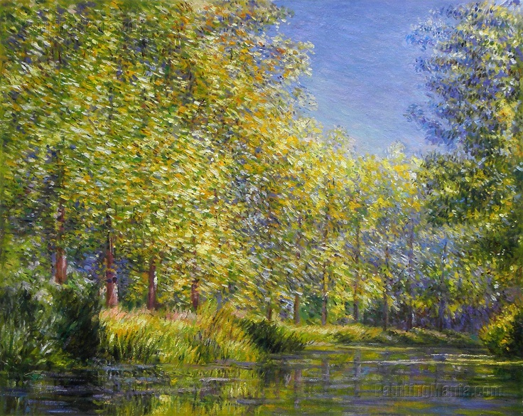 Claude Monet - Bend in the Epte River near Giverny