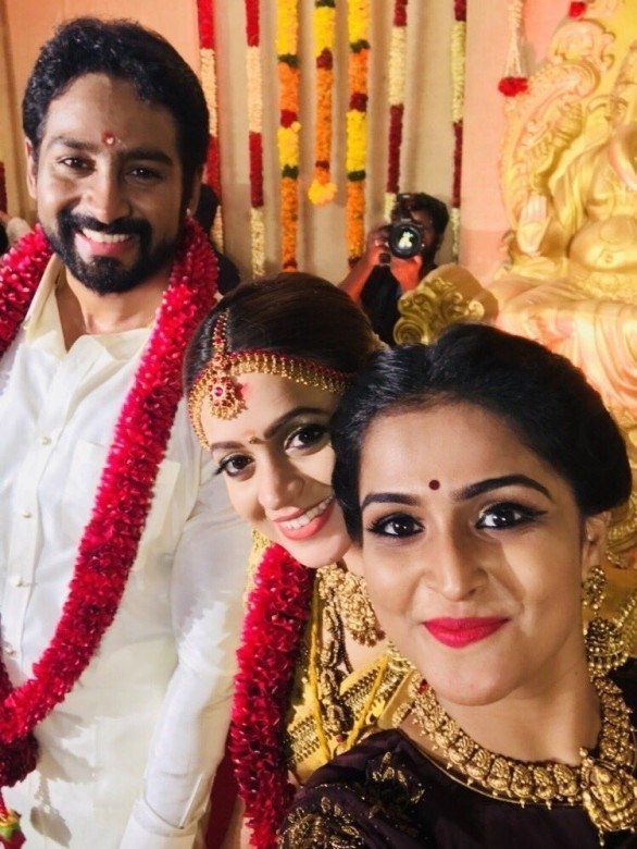 Tamil Actress Bhavana Wedding Pics Actress Wedding Bhavana Actress Marriage Photos