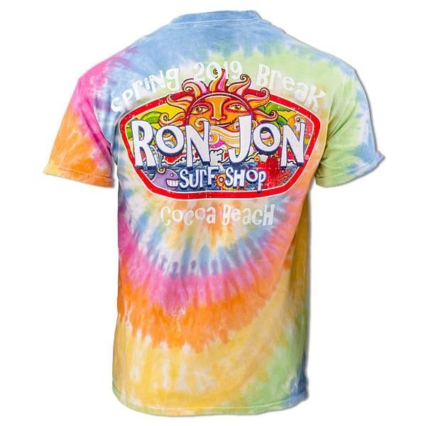 44fb89908 Ron Jon Spring Break '19 Hippie Sun Tie Dye Tee - Men's Apparel ...