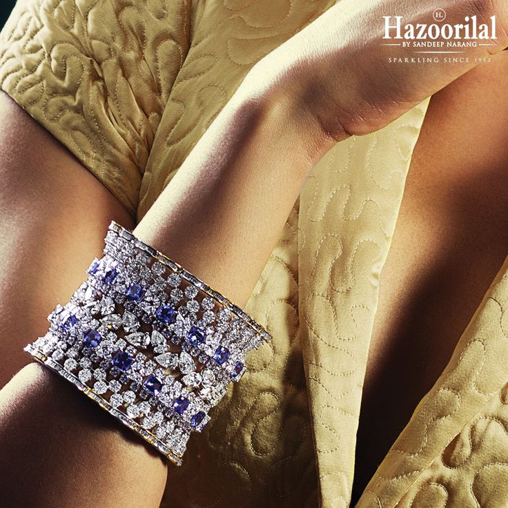 Got The Blues ! Revel in shades of the ocean with Sapphires & Diamonds. #HazoorilalBySandeepNarang #Glorious65years #Since1952 #Diamonds #Sapphires #FineJewelry #ItcMaurya #DlfEmporio #GK-1 #HazoorilalJewellers #Hazoorilal