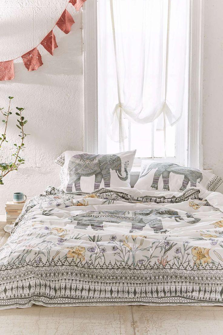Elephant Duvet Cover - Full - Urban Outfitters