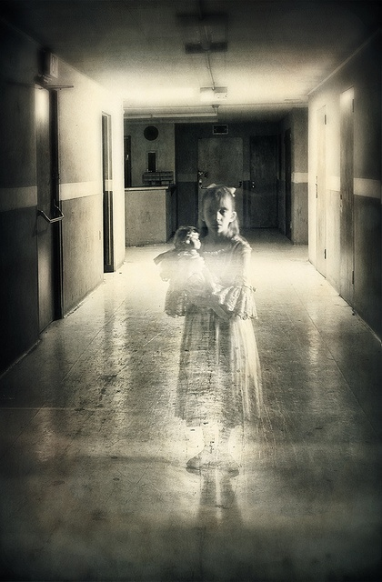 Her photos are amazing. I spent a long time looking through her Flickr sets totally mesmerized.  Remnants of Childhood by Carolyn Hampton, via Flickr