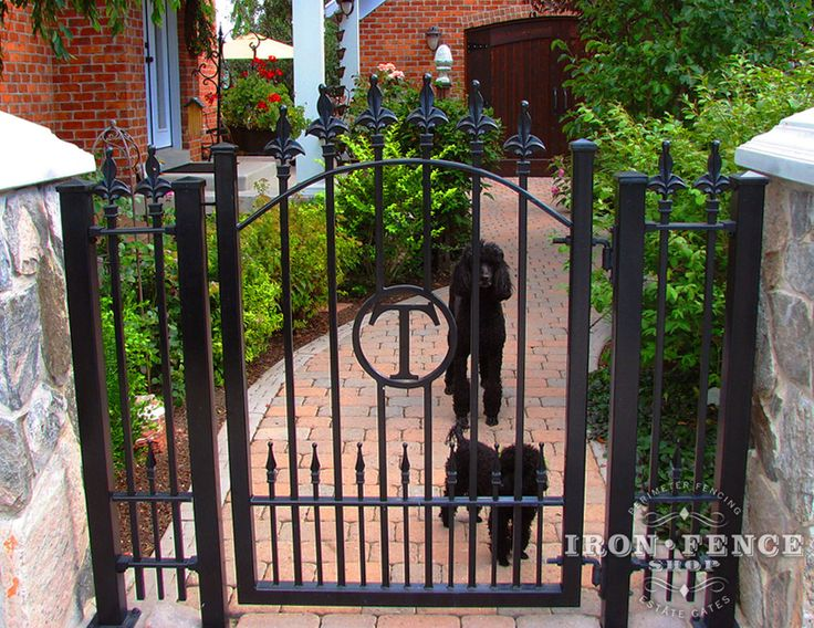 96 Best Custom Wrought Iron Fence Images On Pinterest