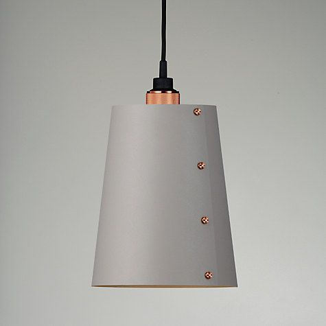 Buy Buster + Punch Hooked 1.0 Ceiling Light, Large, Copper/Stone Online at johnlewis.com