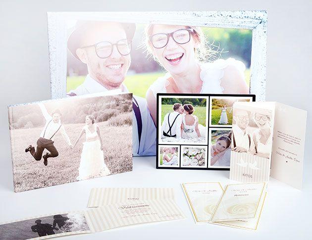 Kuvatuoteideoita häihin; hääkutsut, kiitoskortit, taulu hääkuvasta, kuvakirja hääpäivästä - http://www.ifolor.fi/inspire_kuvatuoteideoita_haihin