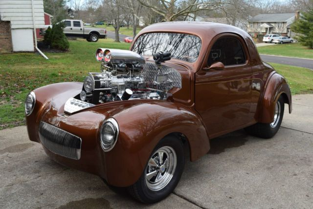 1941 Willys Coupe 509 Bbc W 871 Blower Pro Street For Sale Photos Technical Specifications Description In 2020 Willys Coupe Blowers