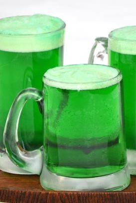Think (and drink) green on St. Paddy's Day with this quick guide to transforming your taps. Hint: The lighter the beer, the brighter the color. Make sure to put the food coloring in the glass first—then you don't have to stir the beer and it won't get flat!