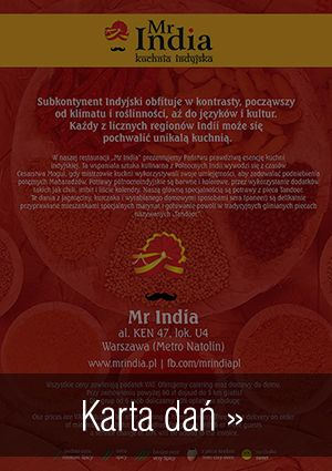 Mr India - ul. Krucza 23/31