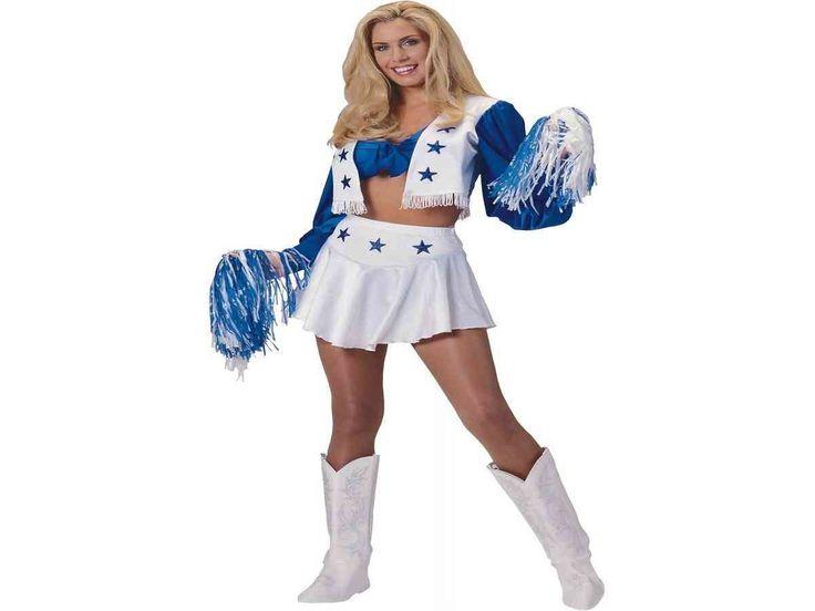 Sexy Dallas Cowboy Cheerleader Costume