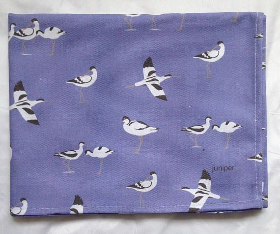 Avocet tea towel  avocet kitchen towel  avocet print on