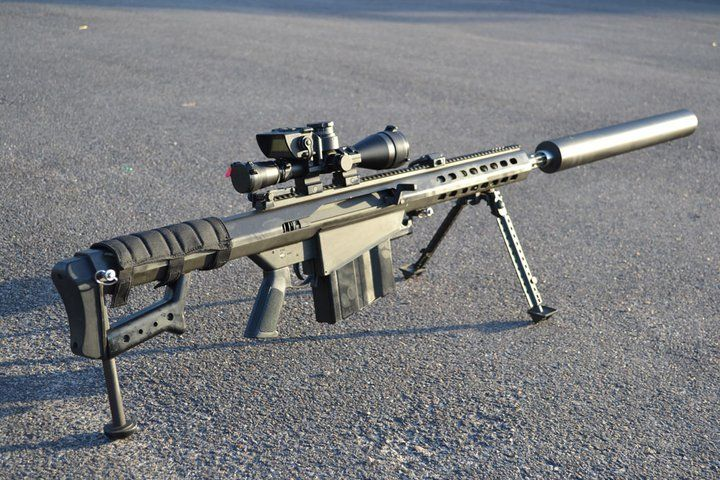 Houston Armory Suppressed .50 cal