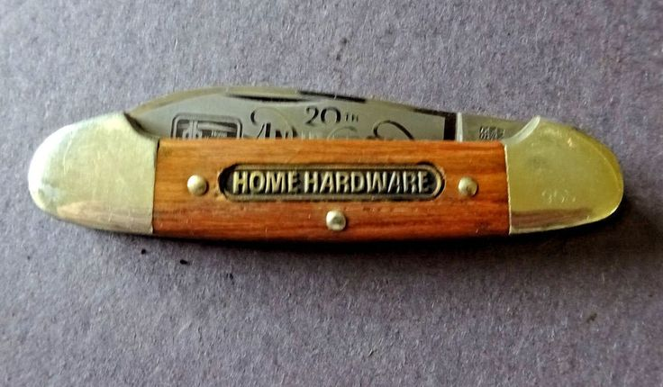 Home Hardware 20th Anniversary Collectible Advertising Knife Boker Germany  #BokerGermanySolingen