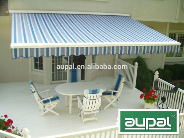 High Quality Outdoor Retractable Metal Awning Materials ...
