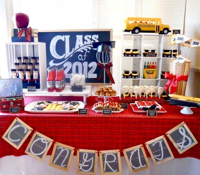 Unique Graduation Table Centerpieces | 25 Graduation Party Ideas And Graduation Party Printables