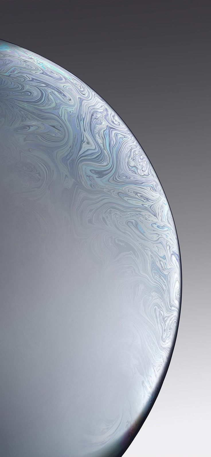 Iphonexpapers Com Iphone X Wallpaper Bg40 Apple Iphone Xs Space Official Art Gray White Bubbl Grey Wallpaper Iphone Apple Wallpaper Iphone Iphone Wallpaper