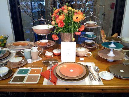 Raynaud Tresor Brown Dinnerware | Gracious Style