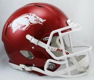 Arkansas Razorbacks Revolution Speed Authentic Helmet Z157-9585532648