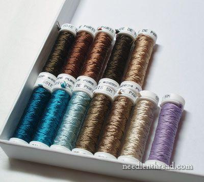 Soie de Paris - new colors of silk hand embroidery thread