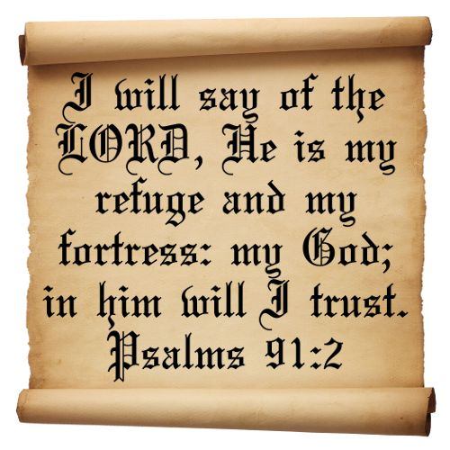 Psalm 91 (KJV) 91 He that dwelleth in the secret place of the most High shall abide under the shadow of the Almighty. 2 I will say of the Lord, He is my refuge and my fortress: my God; in him will I trust. 3 Surely he shall deliver thee from the snare of the fowler, and from the noisome pestilence. #bible