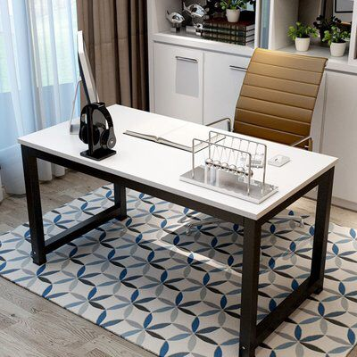 """Capson Writing Desk to 55"""" Large Computer Desk for Home Office"""