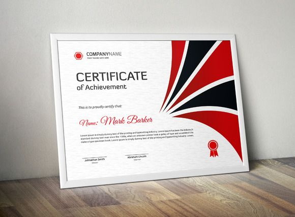77 best Certificate images on Pinterest Fonts, Stationery and - corporate certificate template