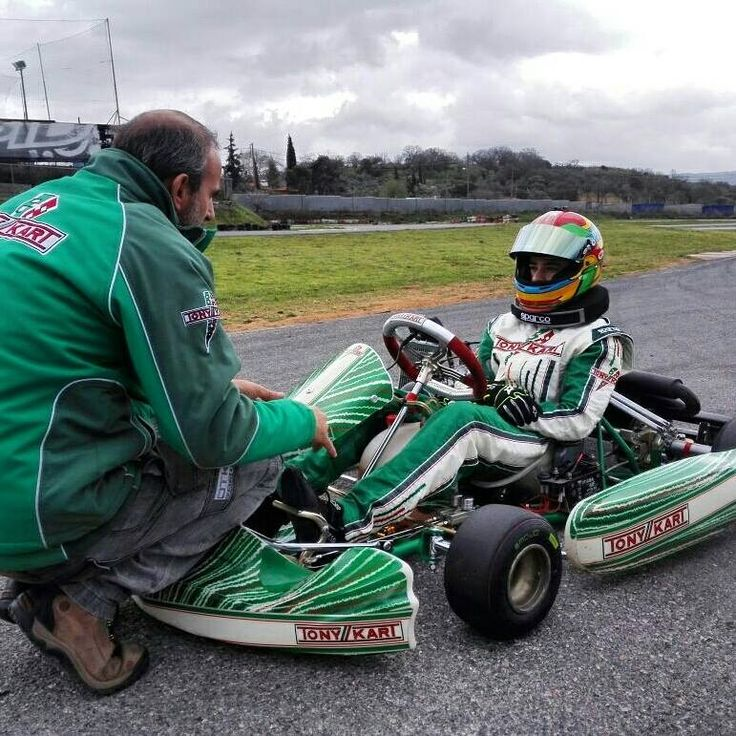Practicing with Roee Meyuhas and Ariel Levy .... Yaron Edry and אקדמית קארטינג של ישראל - Israel karting academy will participate for one more year in Greek Rotax Max Challenge 2015 with PRT Motorsport Academy