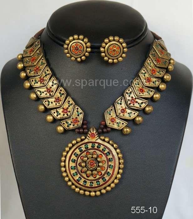 7 best Teracotta jewellery images on Pinterest   Teracotta jewellery ...
