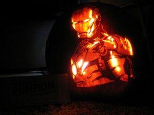 Iron Man Pumpkin Carving Ideas