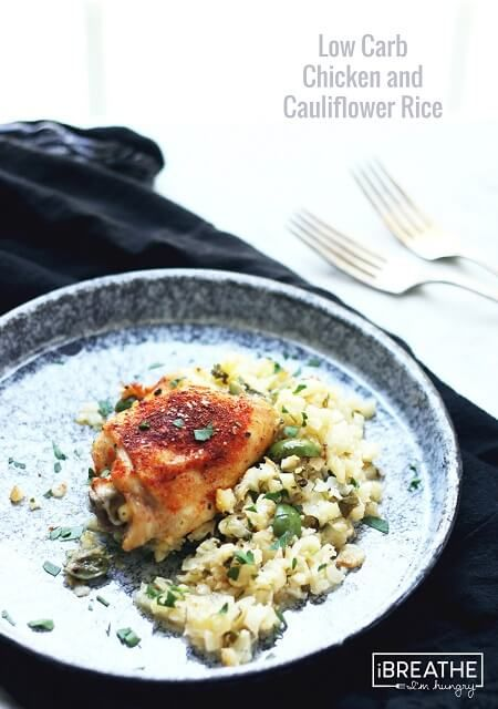 This low carb chicken & rice recipe is based on a beloved dish from my childhood, reinvented to be keto friendly! Paleo & Whole 30 compliant, egg free too!