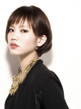 黒髪おしゃれショートヘアカタログ♡ の画像