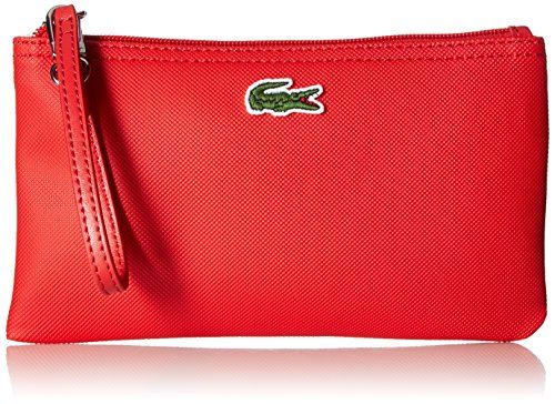 2017 Clutches Lacoste L.12.12 Concept Clutch, 883 High Risk Red