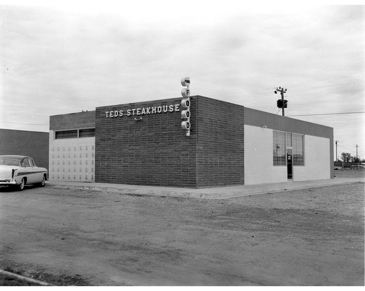 Who remembers Ted's Steakhouse Hays, KS 1950's?