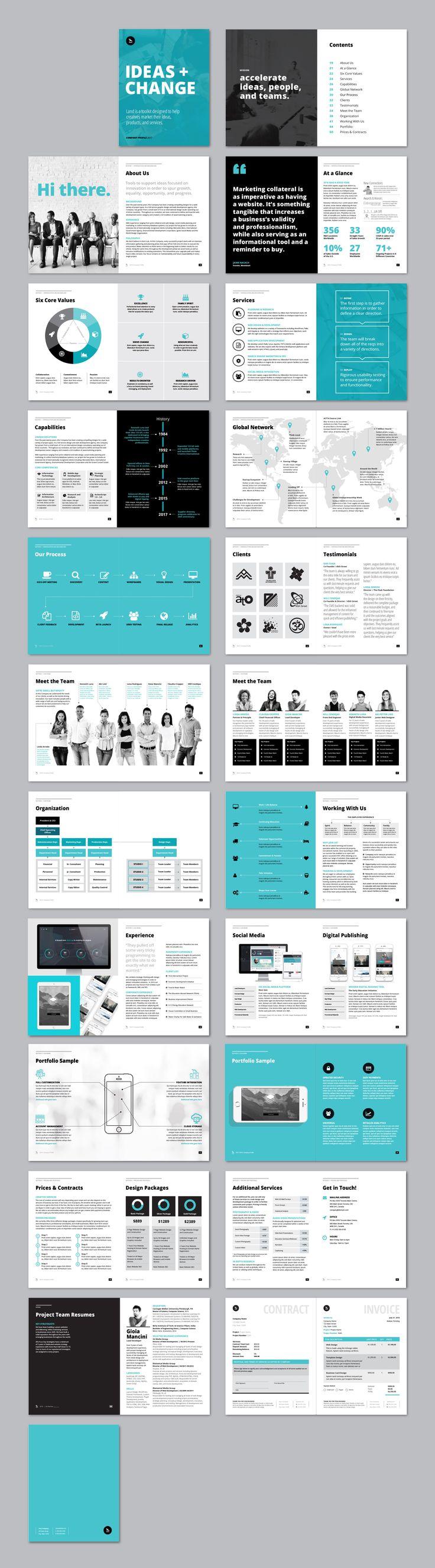 25 best ideas about Company profile design – Company Profile Template