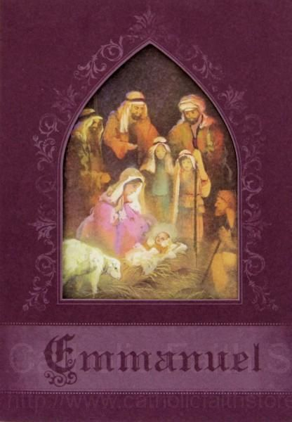 The 16 best catholic christmas cards images on pinterest christmas emmanuel christmas card box set abch057 m4hsunfo