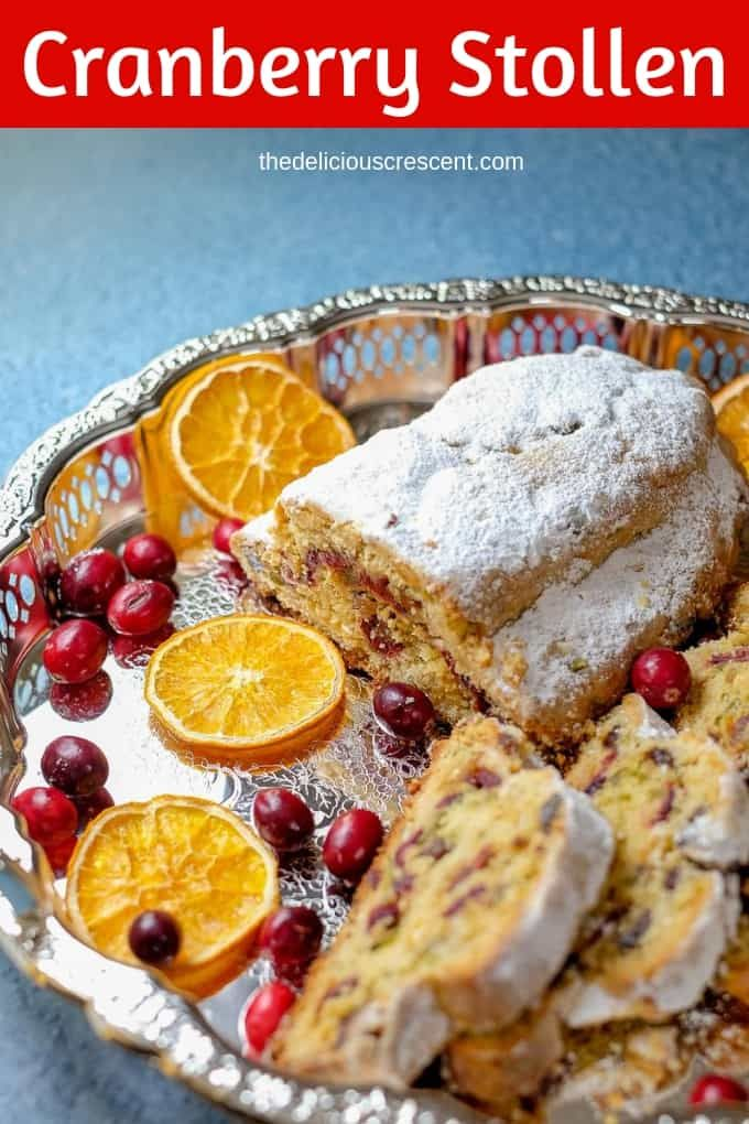 Cranberry Orange Quark Stollen (Video) Recipe Dessert Recipes
