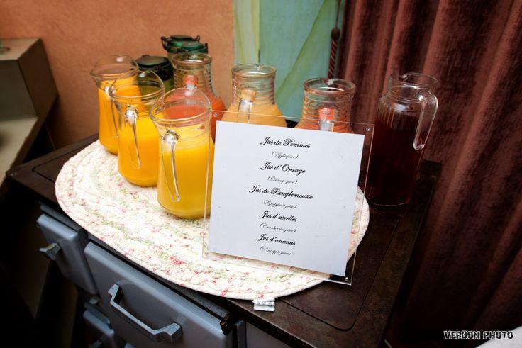 jus de fruit au choix : orange, pamplemousse, ananas, crandberries, pomme