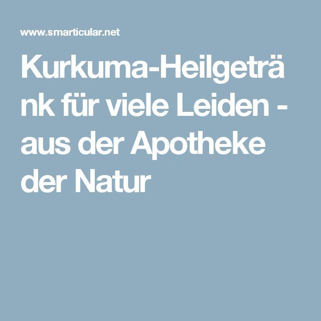 Kurkuma-Heilgetränk für viele Leiden - aus der Apotheke der Natur