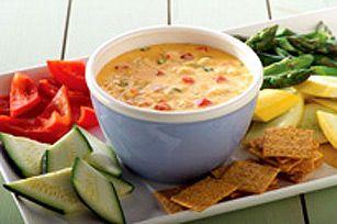 Trempette chaude au fromage et au crabe