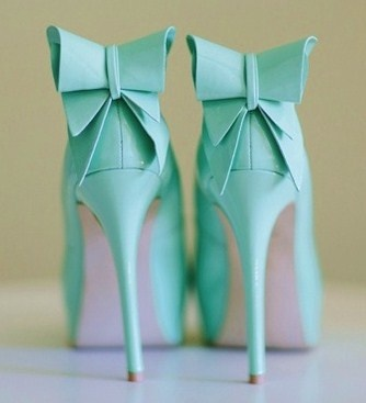 These Bow Tiful Tiffany Blue Wedding Shoes Would Be Perfect For Your Something