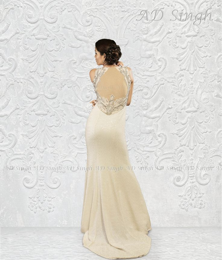 Ivory Wedding gown by ad singh couture. for more info email info@adsingh.com www.adsingh.com
