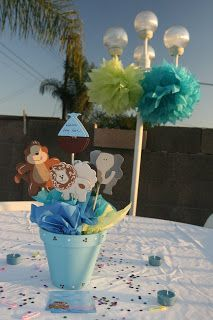 Whimsy U0026 Wise Events: Noahu0027s Ark Baby Shower